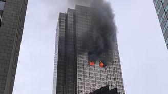 New York'taki Trump Tower'da yangın: 1 ölü