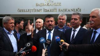 CHP'li heyetten şeker protestosu