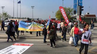 1 Mayıs İşçi Bayramı kutlanıyor