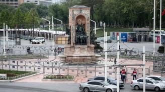 1 Mayıs Emek ve Dayanışma Günü nedeniyle Taksim'de güvenlik önlemleri