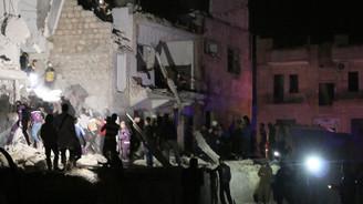 İdlib'de hastane önünde saldırı: 12 ölü