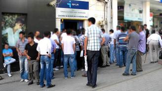 İşsizlik oranı yüzde 10,6'ya geriledi