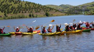 Perşembe Yaylası'nda kano festivali