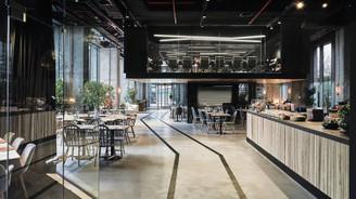 Akfen Holding, ofisin ortasına mutfak kurdu