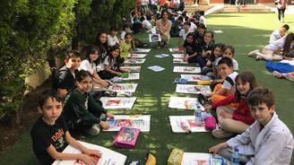 470 bin öğrenci açık havada ders yaptı