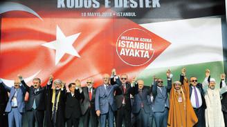 İstanbul'dan dünyaya 'Kudüs' haykırışı