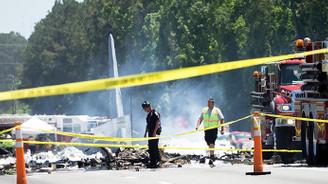 ABD'de askeri kargo uçağı düştü: 5 ölü