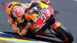 Fransa Grand Prix'ini Marquez kazandı