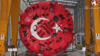 Kıbrıs ovalarını suya kavuşturacak makine tanıtıldı