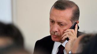 Erdoğan, Filistin Devlet Başkanı Abbas ile görüştü