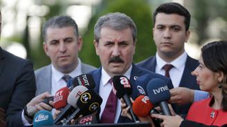 Destici, Cumhurbaşkanı Erdoğan ile görüştü