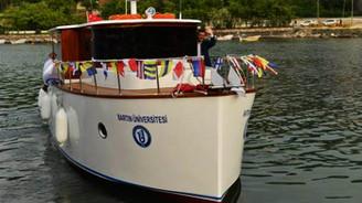 Üniversite öğrencilerinden tekne imalatı