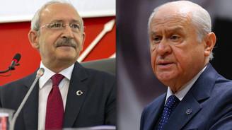 CHP ve MHP beyannamede 'ekonomi' diyecek