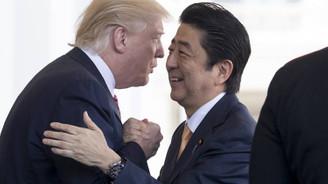 Trump, Kuzey Kore zirvesi öncesi Abe ile görüşecek