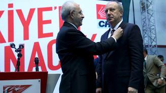 İnce, CHP rozetini çıkardı: Allah'ın izniyle, milletin isteğiyle tarafsız cumhurbaşkanı olacağım