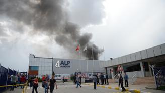Eskişehir OSB'de yangın
