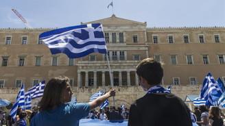 Yunanistan-Makedonya 'isim sorunu' anlaşması protesto edildi