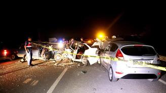 Bayramda trafik kazalarında 37 kişi hayatını kaybetti
