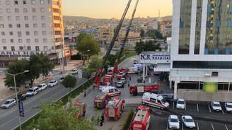 Gaziantep'te özel hastanede yangın: 2 ölü