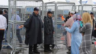 İstanbul'daki mitingler için sıkı güvenlik önlemi