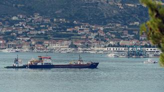 Hırvatistan'daki Türk gemisi limana çekildi