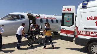 Uçak ambulans sayısı 4'e çıktı