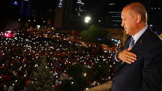 Yeni sistemin ilk cumhurbaşkanı Erdoğan