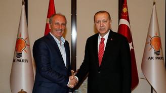 İnce ve Karamollaoğlu, Erdoğan'ı tebrik etti