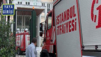 Mimar Sinan Üniversitesi'nde yangın