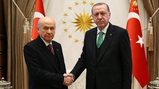 Bahçeli-Erdoğan görüşmesine Yıldırım da katılacak
