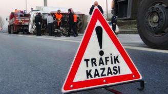 Trafik kazalarında yüzde 1.7 artış
