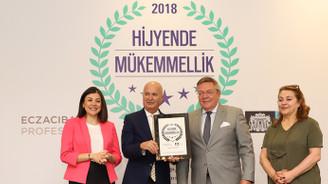 Çırağan Palace Kempinski, Hijyende Mükemmel seçildi