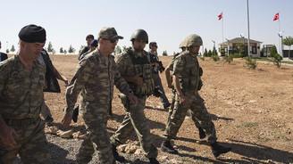 Akar, Suriye sınırında incelemelerde bulunuyor