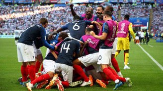 Fransa, çeyrek finale yükseldi