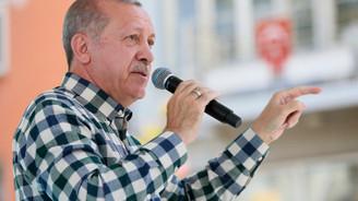 Erdoğan: Yıkacağım dedi, kuzu kuzu saraya geldi