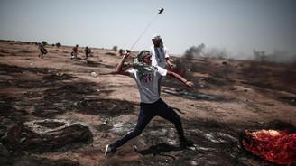 Gazze sınırında 3 Filistinli hayatını kaybetti