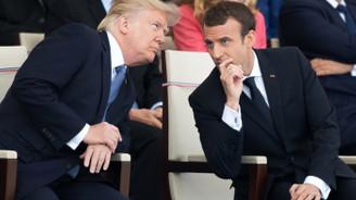 Macron'dan Trump'a tehdit: Gerekirse G6 olarak yola devam ederiz