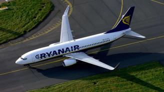 Ryanair'deki grev uçuşları etkiledi