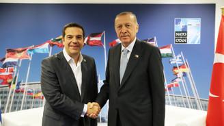Cumhurbaşkanı Erdoğan, Çipras ile görüştü