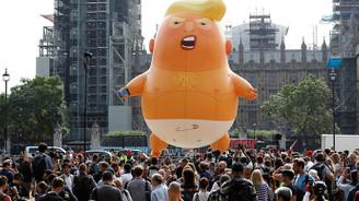 Trump'tan protesto yorumu: Niye kalayım ki?