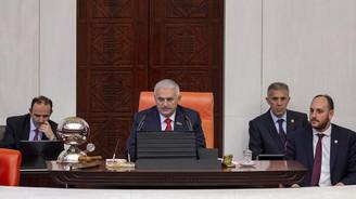 Meclis'te Yıldırım ve Özel arasında 'Başbakanlık' diyaloğu