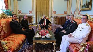 Yıldırım, Milli Savunma Bakanı Akar'ı kabul etti
