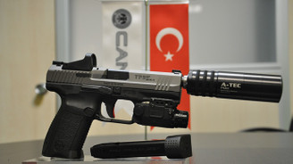 Filipin polisine Türk malı silah