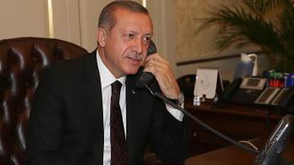 Erdoğan, Moldovalı mevkidaşı ile görüştü