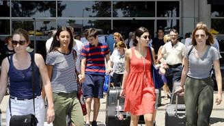 Yılın ilk yarısında turist sayısı yüzde 30 arttı