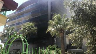 Kuşadası'nda 5 yıldızlı otelde yangın