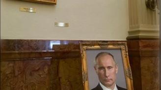 ABD'de hükümet binasında Trump'ın yerine Putin portresi