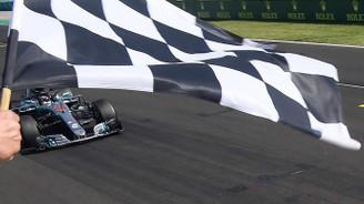 Macaristan'da kazanan Hamilton