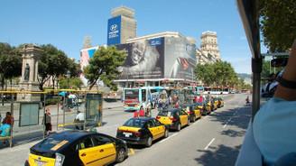 İspanya'da taksicilerin Uber grevi sonuçsuz kaldı