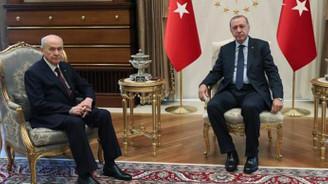 Erdoğan-Bahçeli görüşmesi 40 dakika sürdü